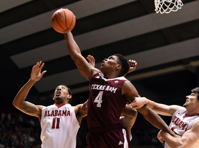 Texas A&M vs. Alabama - 3/7/15 College Basketball Pick, Odds, and Prediction