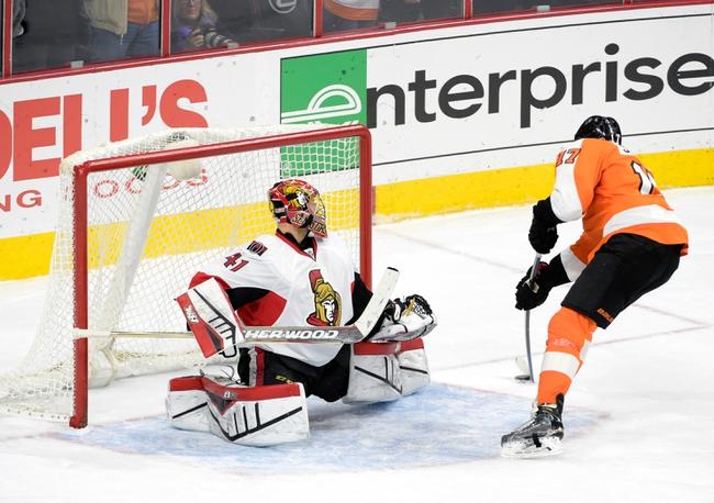 Ottawa Senators vs. Philadelphia Flyers - 3/15/15 NHL Pick, Odds, and Prediction