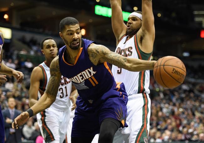Phoenix Suns vs. Milwaukee Bucks - 12/20/15 NBA Pick, Odds, and Prediction