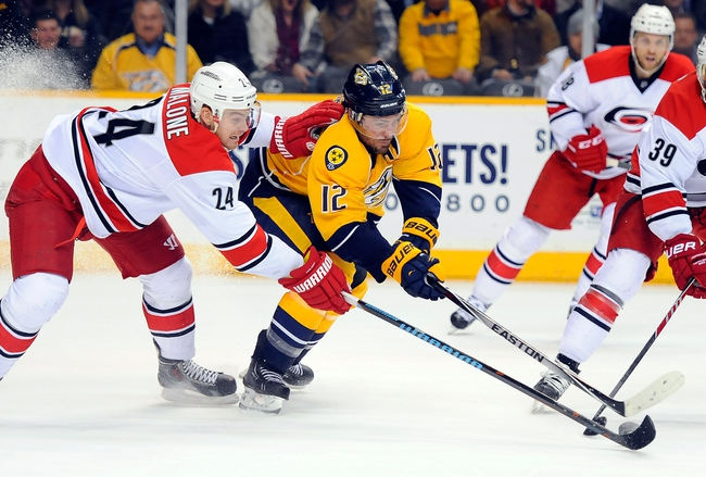 Carolina Hurricanes vs. Nashville Predators - 1/2/16 NHL Pick, Odds, and Prediction
