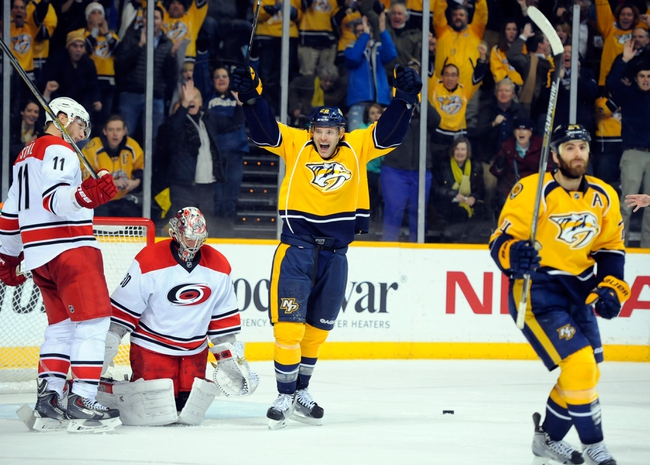 Nashville Predators vs. Carolina Hurricanes - 10/8/15 NHL Pick, Odds, and Prediction