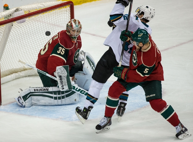 San Jose Sharks vs. Minnesota Wild - 12/12/15 NHL Pick, Odds, and Prediction