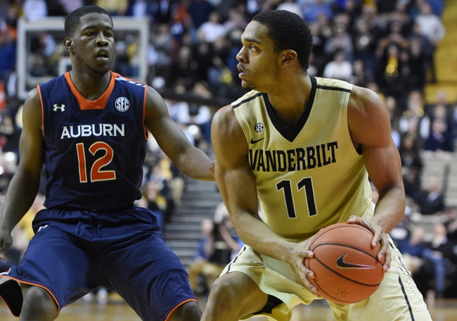 Vanderbilt Commodores vs. Auburn Tigers - 1/12/16 College Basketball Pick, Odds, and Prediction