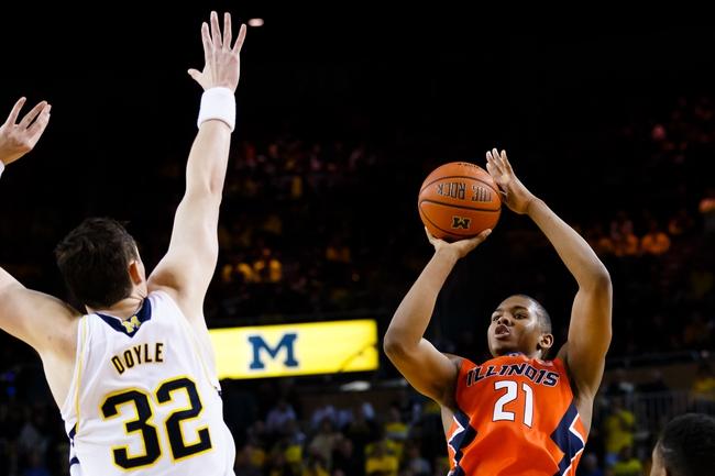 Illinois vs. Michigan - 2/12/15 College Basketball Pick, Odds, and Prediction