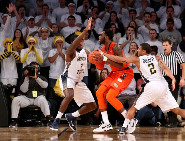 Syracuse Orange vs. Georgia Tech Yellow Jackets - 1/30/16 College Basketball Pick, Odds, and Prediction