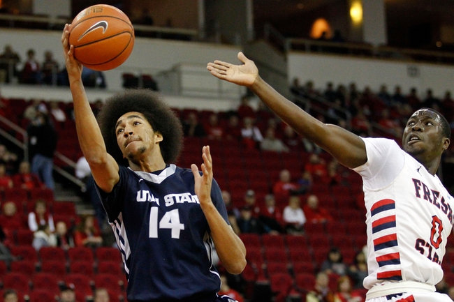Utah State vs. New Mexico - 1/10/15 College Basketball Pick, Odds, and Prediction