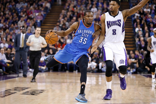 Kings at Thunder - 4/10/15 NBA Pick, Odds, and Prediction