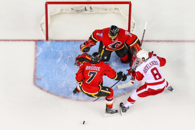 Detroit Red Wings vs. Calgary Flames - 3/6/15 NHL Pick, Odds, and Prediction