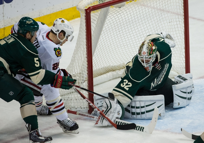 Blackhawks vs. Wild - 1/11/15 NHL Pick, Odds, and Prediction
