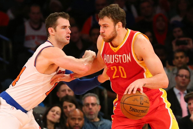 Houston Rockets vs. New York Knicks - 11/21/15 NBA Pick, Odds, and Prediction
