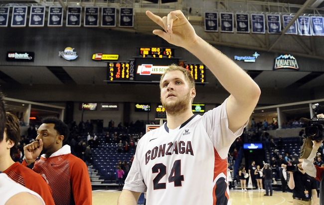 San Francisco Dons vs. Gonzaga Bulldogs - 2/7/15 College Basketball Pick, Odds, and Prediction
