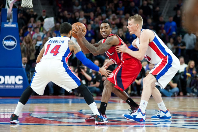 Hawks vs. Pistons - 1/19/15 NBA Pick, Odds, and Prediction