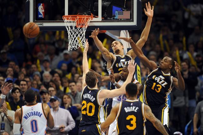 Jazz vs. Thunder - 3/28/15 NBA Pick, Odds, and Prediction