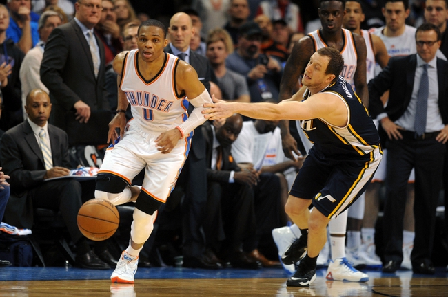 Utah Jazz vs. Oklahoma City Thunder - 3/28/15 NBA Pick, Odds, and Prediction