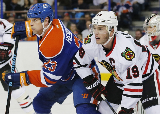Chicago Blackhawks vs. Edmonton Oilers - 3/6/15 NHL Pick, Odds, and Prediction