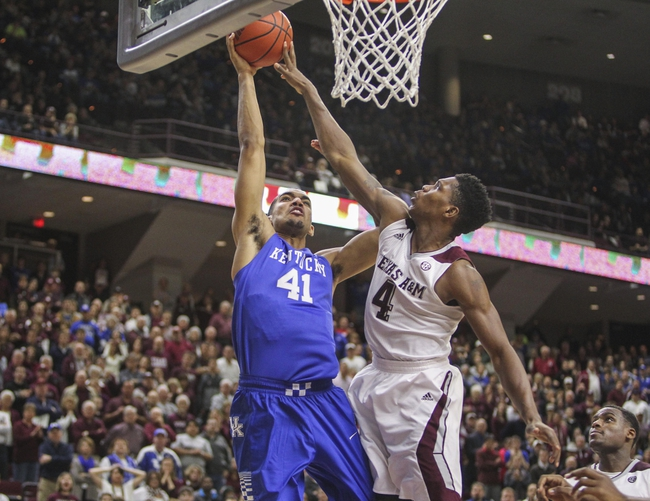Texas A&M vs. Kentucky - 2/20/16 College Basketball Pick, Odds, and Prediction