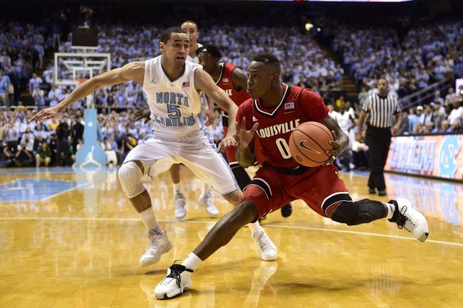 Louisville vs. North Carolina - 1/31/15 College Basketball Pick, Odds, and Prediction