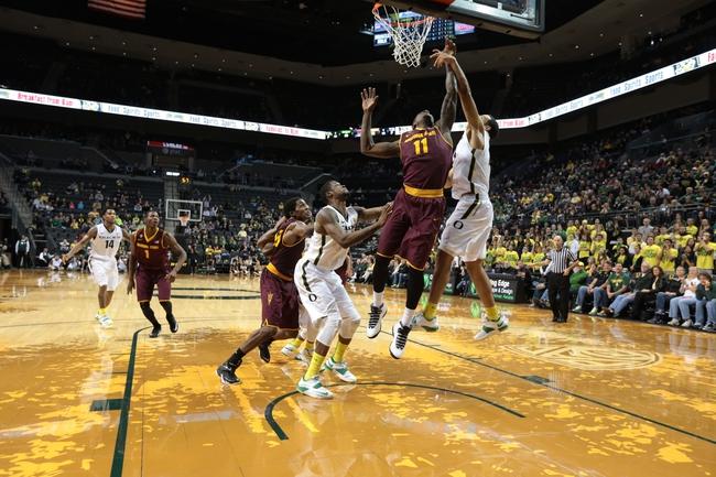 Arizona State vs. Oregon 1/30/15 -  College Basketball Pick, Odds, and Prediction
