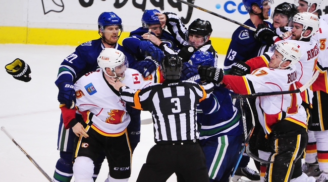 Calgary Flames vs. Vancouver Canucks - 2/14/15 NHL Pick, Odds, and Prediction