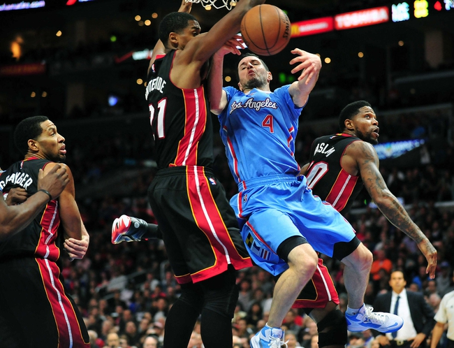 Los Angeles Clippers vs. Miami Heat - 1/13/16 NBA Pick, Odds, and Prediction