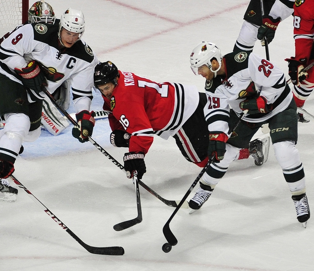 Minnesota Wild vs. Chicago Blackhawks - 2/3/15 NHL Pick, Odds, and Prediction