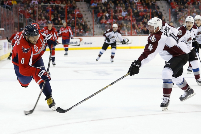 Washington Capitals vs. Colorado Avalanche - 11/21/15 NHL Pick, Odds, and Prediction