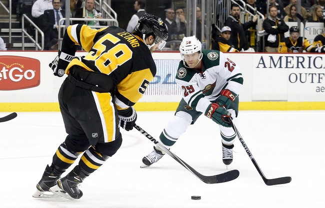 Pittsburgh Penguins vs. Minnesota Wild - 11/17/15 NHL Pick, Odds, and Prediction
