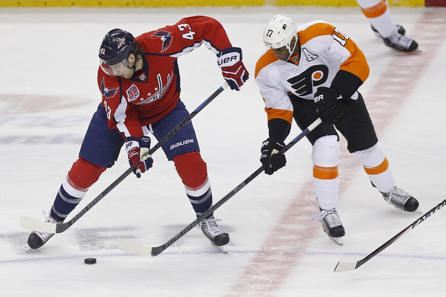 Capitals vs. Flyers - 2/8/15 NHL Pick, Odds, and Prediction