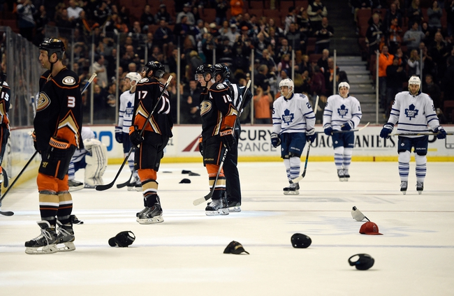 Ducks vs. Maple Leafs - 1/6/16 NHL Pick, Odds, and Prediction