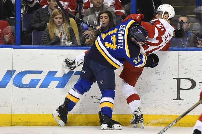 Detroit Red Wings vs. St. Louis Blues - 3/22/15 NHL Pick, Odds, and Prediction