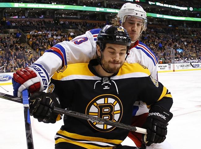 New York Rangers vs. Boston Bruins - 2/4/15 NHL Pick, Odds, and Prediction