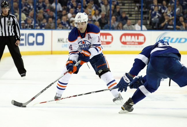 Edmonton Oilers vs. Tampa Bay Lightning - 1/8/16 NHL Pick, Odds, and Prediction