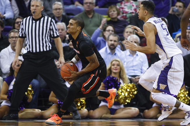 Oregon State vs. Washington - 2/8/15 College Basketball Pick, Odds, and Prediction