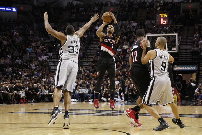 Trail Blazers vs. Spurs - 2/25/15 NBA Pick, Odds, and Prediction