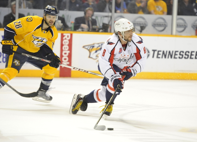 Capitals vs. Predators - 3/28/15 NHL Pick, Odds, and Prediction