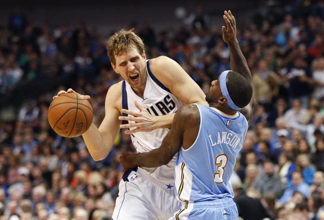Mavericks at Nuggets - 4/10/15 NBA Pick, Odds, and Prediction
