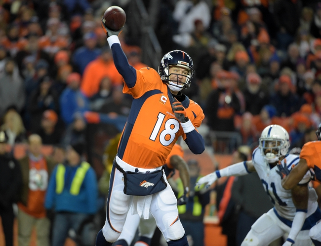 Indianapolis Colts vs. Denver Broncos - 11/8/15 NFL Pick, Odds, and Prediction