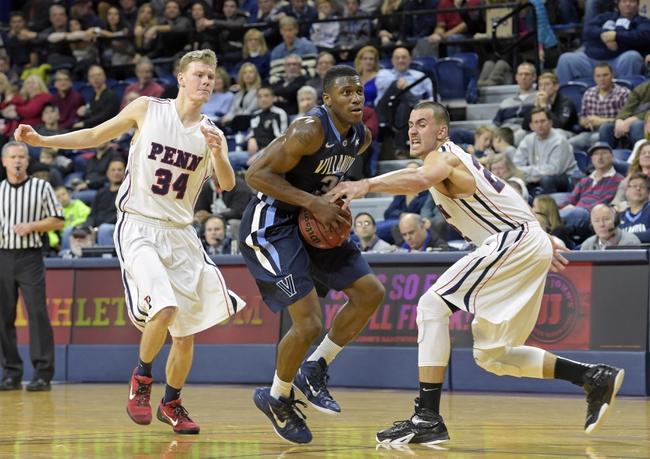 Villanova Wildcats vs. Pennsylvania Quakers - 12/28/15 College Basketball Pick, Odds, and Prediction