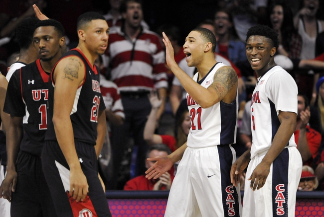 Utah vs. Arizona - 2/28/15 College Basketball Pick, Odds, and Prediction
