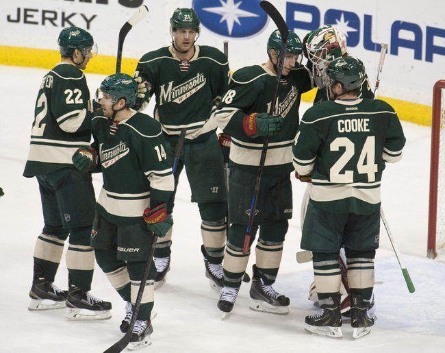 Arizona Coyotes vs. Minnesota Wild - 10/15/15 NHL Pick, Odds, and Prediction