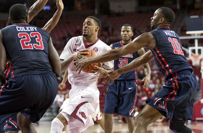 Mississippi vs. Arkansas - 2/14/15 College Basketball Pick, Odds, and Prediction