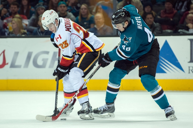 Calgary Flames vs. San Jose Sharks - 2/4/15 NHL Pick, Odds, and Prediction