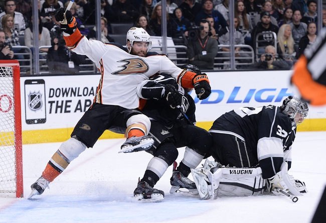 Anaheim Ducks vs. Los Angeles Kings - 2/27/15 NHL Pick, Odds, and Prediction