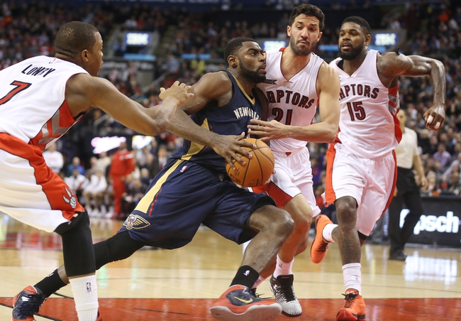 New Orleans Pelicans vs. Toronto Raptors - 2/23/15 NBA Pick, Odds, and Prediction