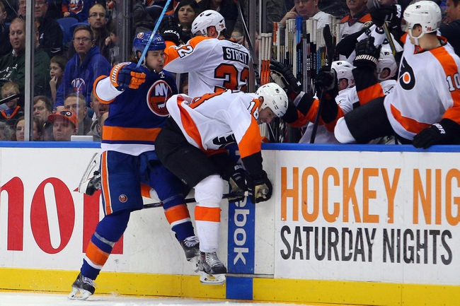 Flyers vs. Islanders - 2/5/15 NHL Pick, Odds, and Prediction