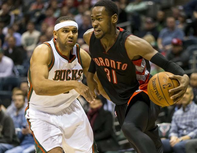 Raptors vs. Bucks - 2/2/15 NBA Pick, Odds, and Prediction
