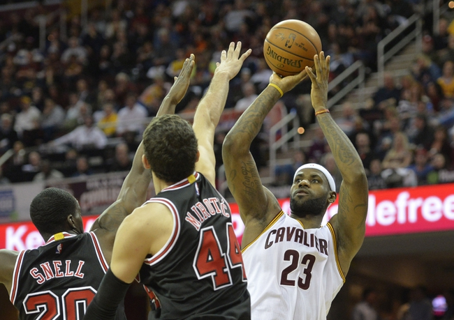Bulls vs. Cavaliers - 2/12/15 NBA Pick, Odds, and Prediction