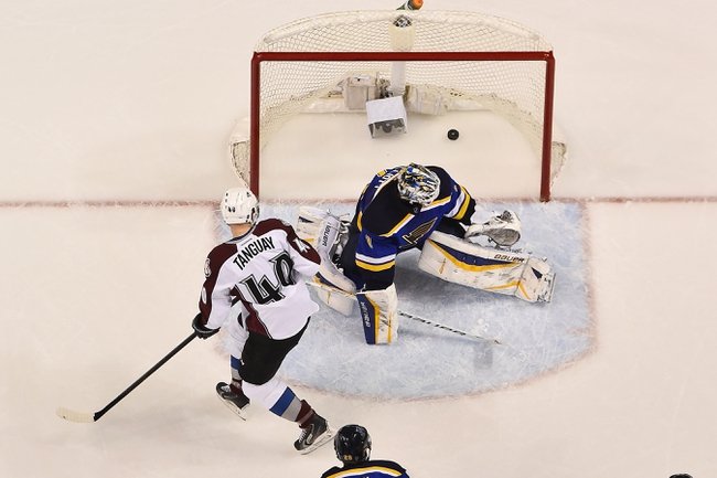 St. Louis Blues vs. Colorado Avalanche - 12/13/15 NHL Pick, Odds, and Prediction