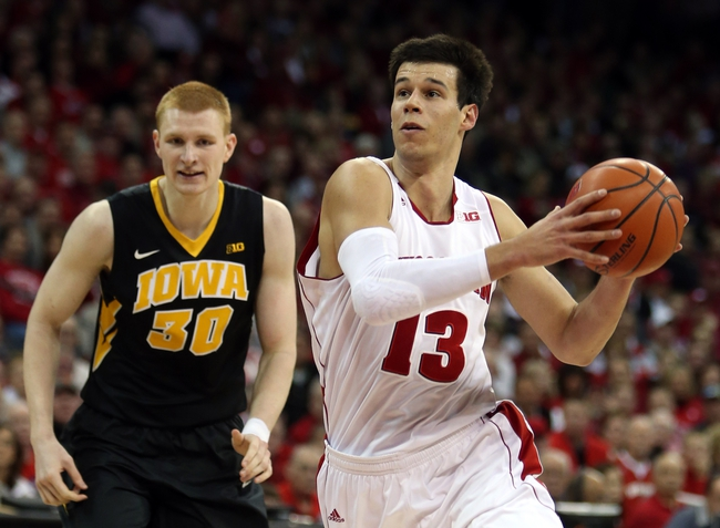 Iowa vs. Wisconsin - 1/31/15 College Basketball Pick, Odds, and Prediction