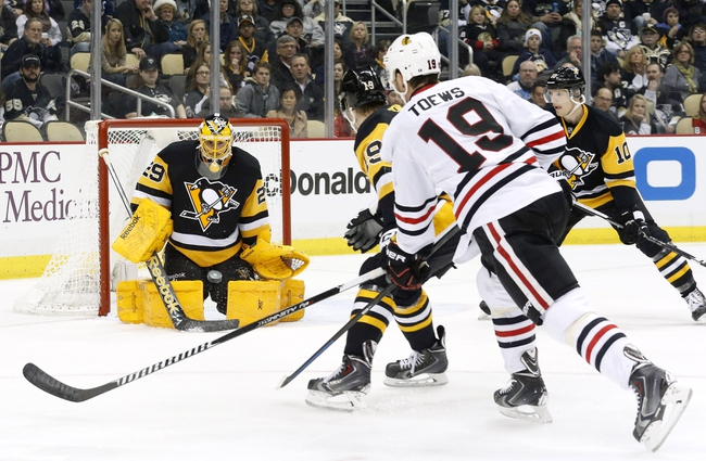 Blackhawks vs. Penguins - 2/15/15 NHL Pick, Odds, and Prediction